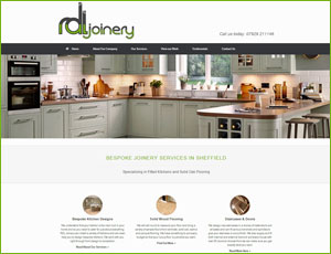 RDL Joinery Sheffield Screen Shot and Link
